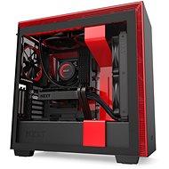 NZXT H710i Matte Black Red - Počítačová skříň