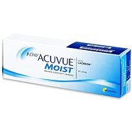 Acuvue Moist 1 Day (30 čoček) dioptrie: -0.50, zakřivení: 8.50 - Kontaktní čočky