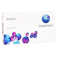 Biofinity (6 čoček) dioptrie: +6.00, zakřivení: 8.60 - Kontaktní čočky