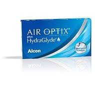Kontaktní čočky Air Optix Plus Hydraglyde (3 čočky)