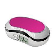 Pouzdro na kontaktní čočky Optipak digitální pouzdro - bílo/růžové