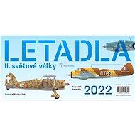 Letadla II.světové války Kalendář/kalendár 2022 - Stolní kalendář