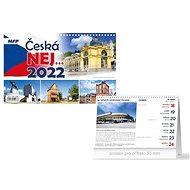 Česká NEJ… - stolní kalendář 2022 - Stolní kalendář