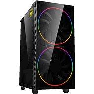 Počítačová skříň GameMax Black Hole / A363-TB