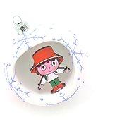 HAN Design Sphere 8 cm Cipísek - Christmas decorations