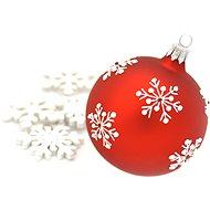 HAN Design Ball 6 cm painted - Christmas decorations