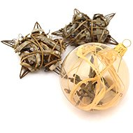 HAN Design Koule 6 cm malovaná - Vánoční ozdoby