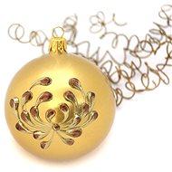HAN Design Koule 8 cm malovaná - Vánoční ozdoby