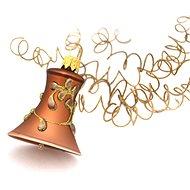 HAN Design Zvonek malý malovaný - Vánoční ozdoby