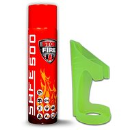 SET of SAFE 500 Extinguishing Spray +  SAFE 50F Holder - Fire Extinguisher