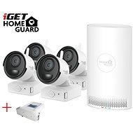 iGET HOMEGUARD HGNVK68004 + 4x kamera FHD 1080p, 6 kanálů NVR - Kamerový systém