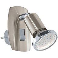 Eglo 92924 - LED svítidlo do zásuvky MINI 4 1xGU10-LED/3W/230V - Nástěnná lampa