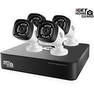 iGET HOMEGUARD HGDVK46704P, 4-kanálový HD DVR + 4x kamera HD720p, IP66, noční vidění - Kamerový systém