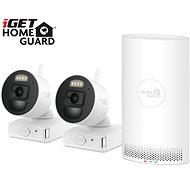 iGET HOMEGUARD HGNVK88002P + 2x IP kamera FHD 1080p - Kamerový systém
