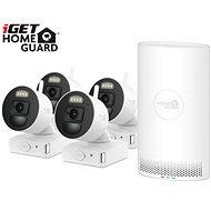iGET HOMEGUARD HGNVK88004P + 4x IP kamera FHD 1080p