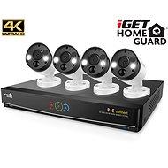 iGET HOMEGUARD HGNVK84904 + 4x HGNVK936CAM - Kamerový systém