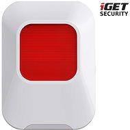 iGET SECURITY EP24 - vnitřní siréna, napájení baterie nebo microUSB pro alarm iGET M5-4G