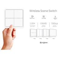 iQtech Smartlife SC04 Přepínač scén 4x, Zigbee 3.0