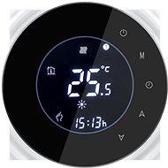 iQtech SmartLife GALW-B, WiFi termostat pro kotle s potenciálovým spínáním, černý - Termostat