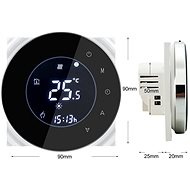 iQtech SmartLife GCLW-W, WiFi Thermostat for Boilers with Potential-Free Switching, White - Thermostat