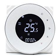 iQtech SmartLife GALW-W, WiFi termostat pro kotle s potenciálovým spínáním, bílý - Termostat