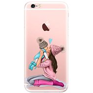 iSaprio Kissing Mom - Brunette and Boy pro iPhone 6 Plus