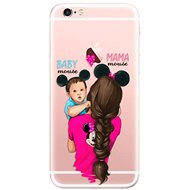 iSaprio Mama Mouse Brunette and Boy pro iPhone 6 Plus