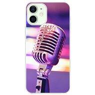 iSaprio Vintage Microphone pro iPhone 12 mini