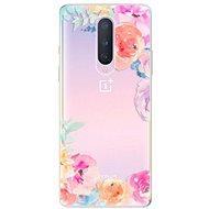 iSaprio Flower Brush pro OnePlus 8 - Kryt na mobil
