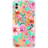 iSaprio Flower Pattern 01 pro Samsung Galaxy A40 - Kryt na mobil
