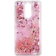 iWill Glitter Liquid Heart Case pro Xiaomi Redmi 8 Pink - Kryt na mobil