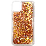 iWill Glitter Liquid Star Case for Apple iPhone 11 Pro, Rose Gold - Mobile Case