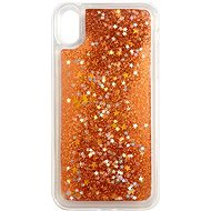 iWill Glitter Liquid Star Case pro Apple iPhone Xr Rose Gold - Kryt na mobil