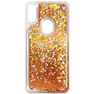 iWill Glitter Liquid Star Case pro HUAWEI Y6 (2019) Rose Gold - Kryt na mobil