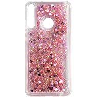 iWill Glitter Liquid Heart Case pro Huawei P40 Lite Pink - Kryt na mobil