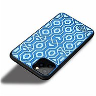 MoFi Anti-slip Back Case Irregular iPhone 11 Modré