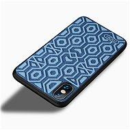 MoFi Anti-slip Back Case Irregular iPhone X / Xs Modré - Kryt na mobil