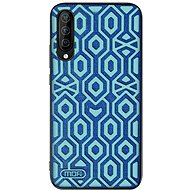 MoFi Anti-slip Back Case Irregular Samsung Galaxy A50 Modré