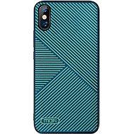 MoFi Anti-slip Back Case Strip iPhone Xr Zelené - Kryt na mobil