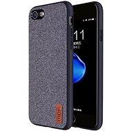 MoFi Fabric Back Cover iPhone 7 / 8 / SE 2020 Šedé - Kryt na mobil
