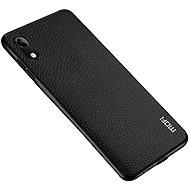 MoFi Litchi PU Leather Case Honor 8A / Huawei Y6s Černé - Kryt na mobil