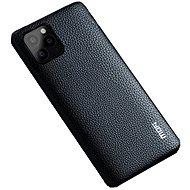 MoFi Litchi PU Leather Case iPhone 11 Černé - Kryt na mobil