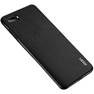 MoFi Litchi PU Leather Case iPhone 7 / 8 / SE 2020 Černé - Kryt na mobil
