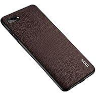 MoFi Litchi PU Leather Case iPhone 7 / 8 / SE 2020 Hnědé