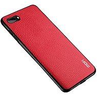 MoFi Litchi PU Leather Case iPhone 7 / 8 / SE 2020 Červené - Kryt na mobil