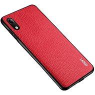 MoFi Litchi PU Leather Case Samsung Galaxy A10 Červené - Kryt na mobil