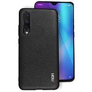 MoFi Litchi PU Leather Case Xiaomi Mi A3 Černé - Kryt na mobil