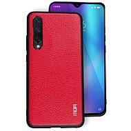 MoFi Litchi PU Leather Case Xiaomi Mi A3 Červené - Kryt na mobil