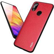 MoFi Litchi PU Leather Case Xiaomi Redmi 7A Červené - Kryt na mobil