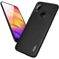 MoFi Litchi PU Leather Case Xiaomi Redmi Note 7 Černé - Kryt na mobil